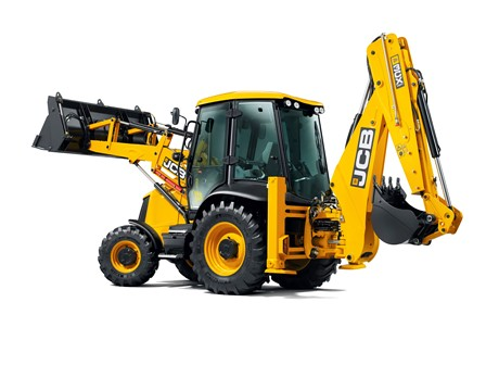 Backhoe loader by Civil-Engineer