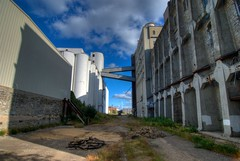 Behind the Mill