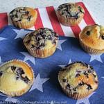 Rezepte mit Blaubeeren: ©Heidelbeer-Muffins - Mad Hungry