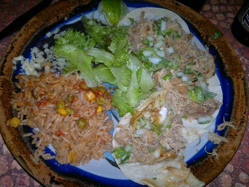 Tacos de carnitas @ Pueblo