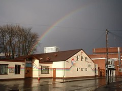 Coventry Jesus Centre in the rain