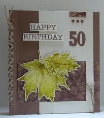 110930 Linda birthday Fiftieth Anniversary