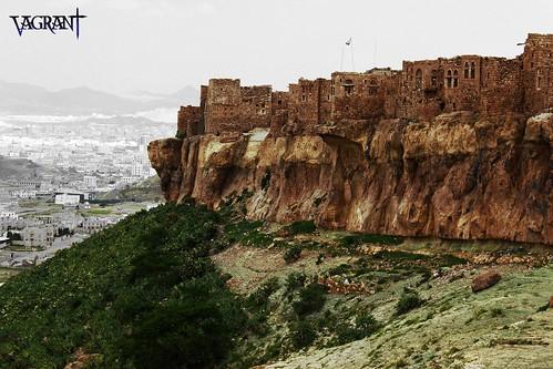 old houses house mountain mountains green history canon landscape eos ancient village historic yemen sanaa sana d550 blinkagain