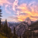 half dome sunset hdr.jpg by Cakebot