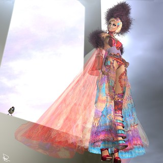 """EOS Dress"" by AnaLee Balut"