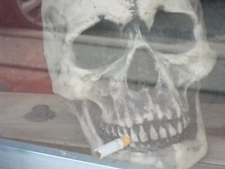No doubt about it, smoking kills!