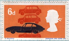 british technology postage stamp by maraid