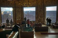 north rim lodge view