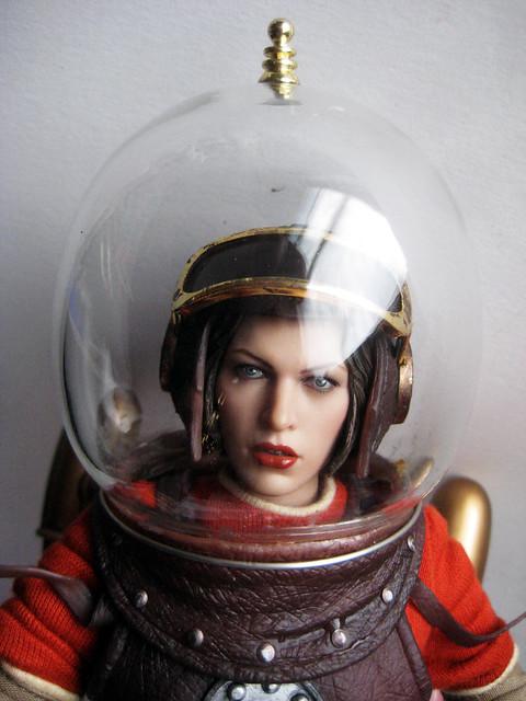 girl in astronaut helmet - photo #15