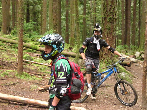 Riding Mount Seymour