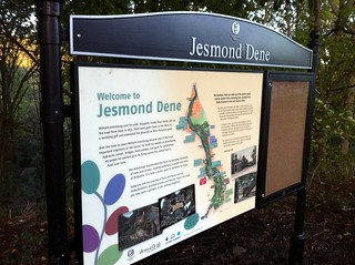 Jesmond Dene interpretation board | by carltonreid