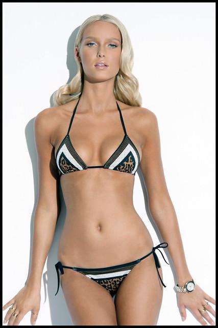 animal scarf charlie bikini