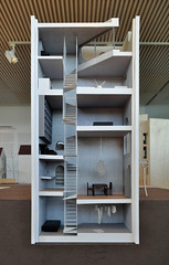 atelier bow-wow, sectional model of house tower, tokyo 2006