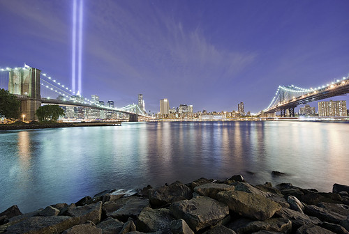 911 Memorial Lights NYC