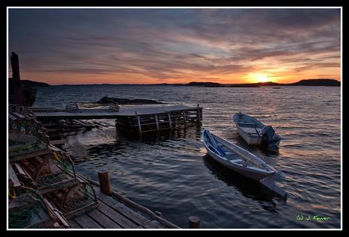sunset newfoundland evening nl salvage eastport terranova eastportpeninsula d700 splitnd