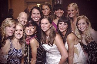 The girls at Taylor's wedding