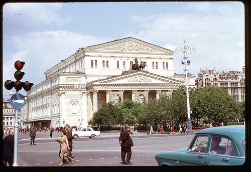 Bolshoi Theatre, Moscow, 1969
