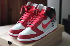 huge sale 403f0 06954 Nike Dunk High PremiumAndre Agassi  by FreshSince73 ...