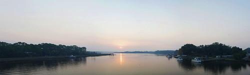 panorama sunrise landscape florida jacksonville troutriver lemturner