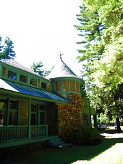 Cottage with tower, Yaddo