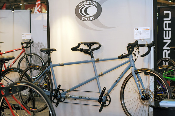 Co-Motion Tandem with Couplers and Belt Drive | lovelybicycl