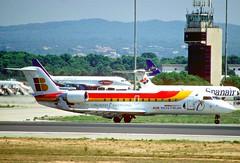 185dn - Air Nostrum Canadair CRJ200ER; EC-HHV@PMI;17.08.2002