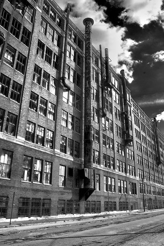 windows urban blackandwhite reflection building abandoned clouds collier landscape industrial factory decay adventure sidewalk smokestack isolation springfield canonrebelxt hdr cloudscape crowell industrialdecay springfieldohio abandonedfactory hdrphotography crowellcollierbuilding crowellcollier publishingfactory