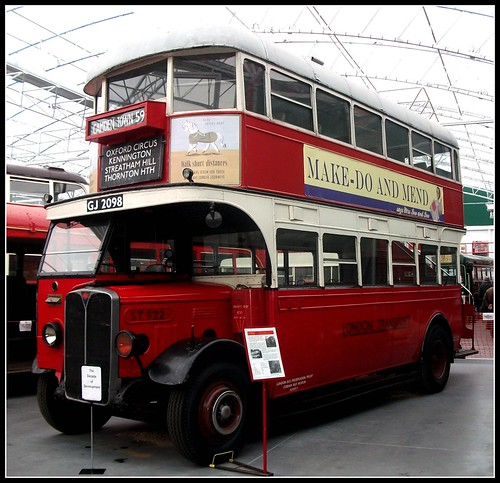 London transport  (Tillings ) ST922 London Bus Museum 18/09/11.