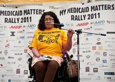 ADAPT Medicaid Rally by SEIU International