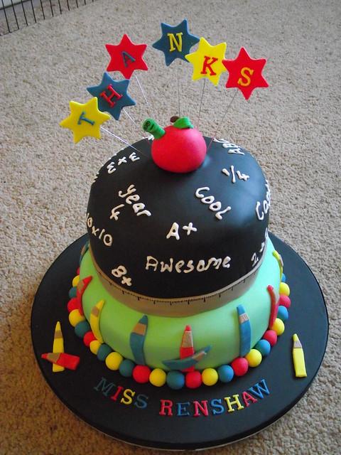 Cake Images For Teachers : Teacher cake Flickr - Photo Sharing!