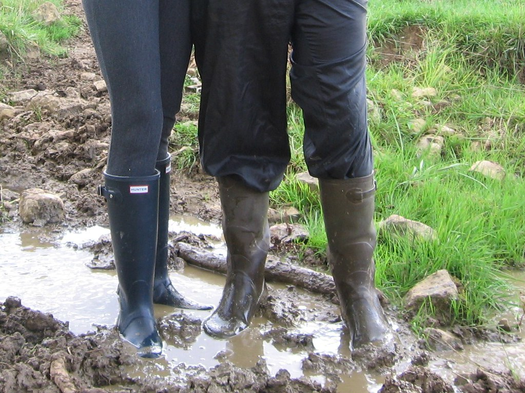 Wellies in mud - a photo on Flickriver