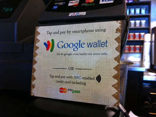 Google Wallet at Peet's