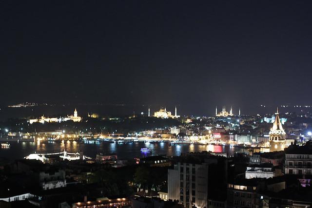 View from Marmara Pera/Mikla.