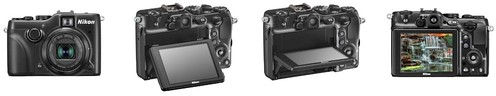 Nikon P7100 – Tilting LCD