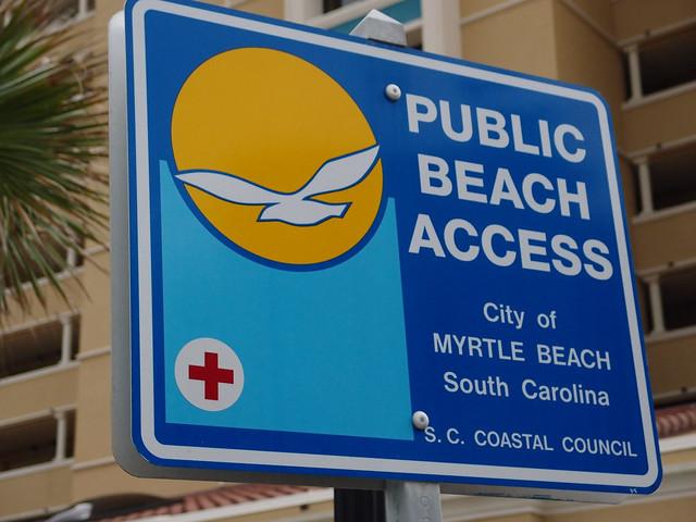 Myrtle Beach Access Parking