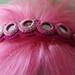 Raspberry Ombre Headband by iamcraftish