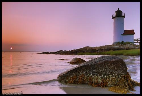 ocean sunset lighthouse beach sand rocks massachusetts nikond50 gloucesterma annisquam justinsmith nikon1735mmf28 leefitlers justinsmithphotocom