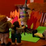 Burning Grandma at the stake