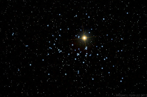 Mars in M44 011011 - re-processed by Mick Hyde