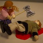 Lizzy Borden had an axe . . .