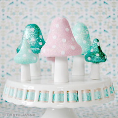 Glittered Toadstools