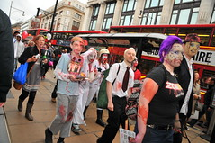 World Zombie Day London 2011 Crawl of the Dead DSC_8738