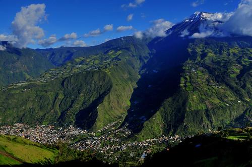 mountain southamerica landscape volcano ecuador nikon scenery day snowcapped baños d300 pwpartlycloudy