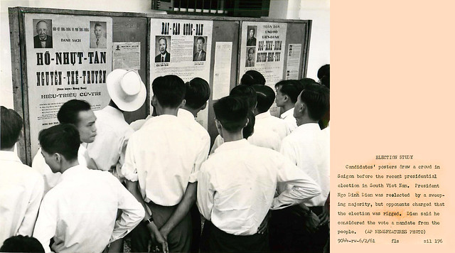 1961 - 1960's Voting, Campaigns & Elections in Vietnam