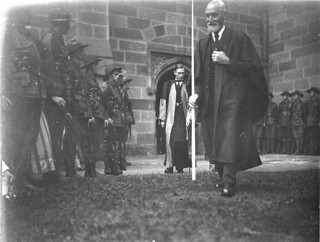 Duke of York in doctoral robes at Sydney University, 29 March 1927 / Sam Hood