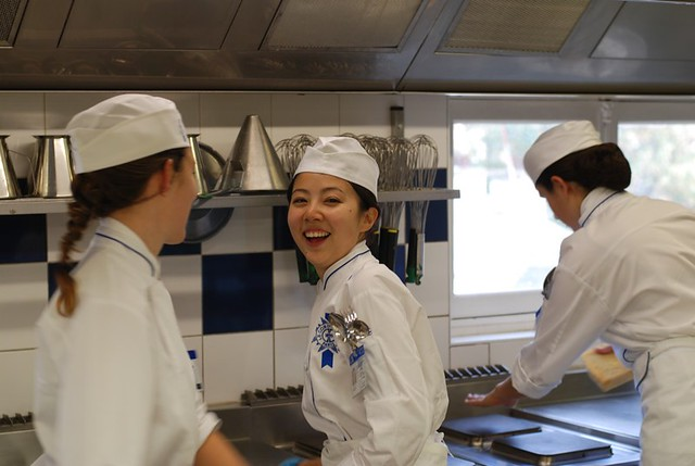 Le Cordon Bleu Paris kitchen