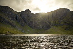 Coire Adair and the cliffs of Creag Meagaidh
