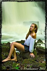 Beauty by the falls