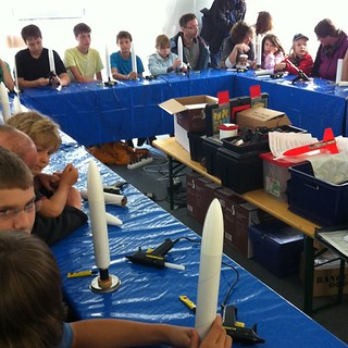Rocket workshop for kids! #TdLR