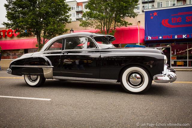 Black 1950 Oldsmobile Delta 88 - 2011-09-18